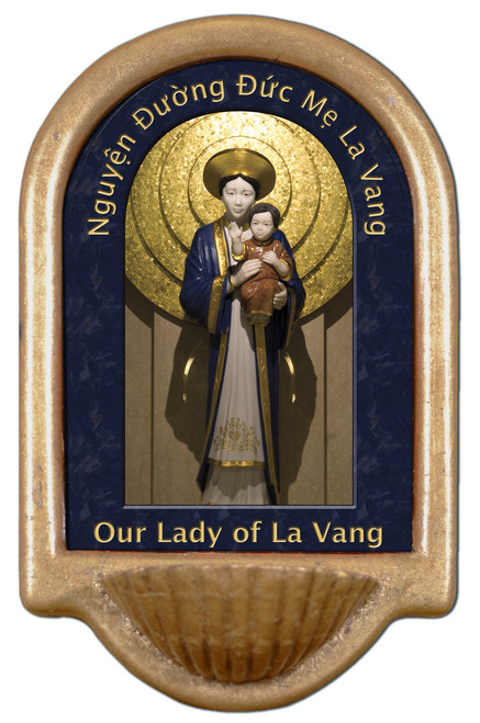 Our Lady of La Vang Holy Water Font