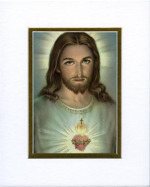 Sacred Heart: Fine Art Print with Matte