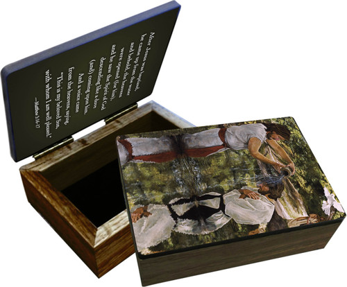 Baptism of Jesus Keepsake Box