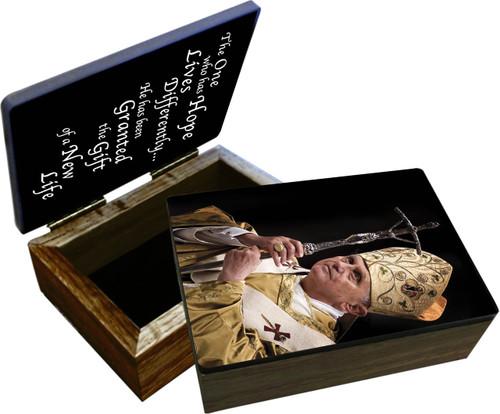 Pope Benedict XVI Keepsake Box