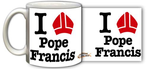 I Love Pope Francis Mug