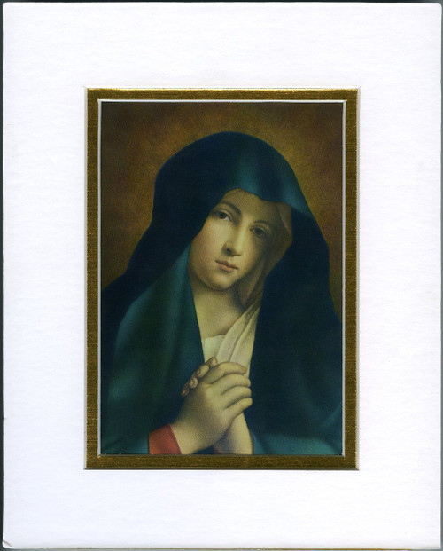 Crying Madonna: Fine Art Print with Matte