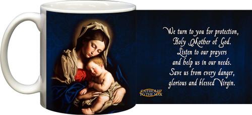 Madonna and Her Child Mug