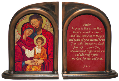 Holy Family Icon Bookends