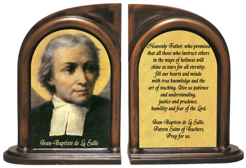 St. Jean-Baptiste de La Salle Bookends