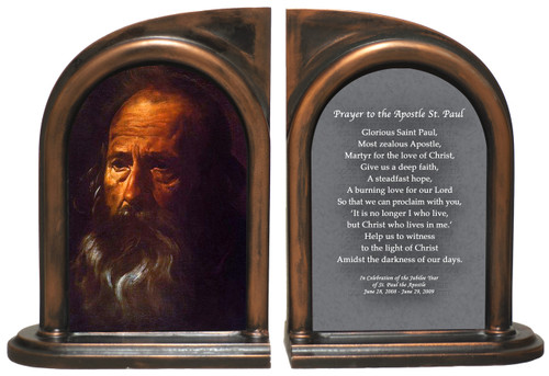 St. Paul (Portrait) by Velazquez Bookends
