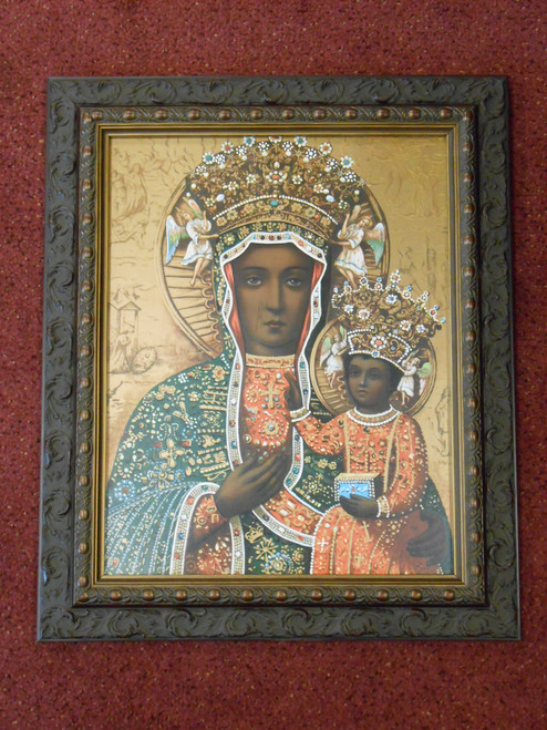 Czestochowa - Dark Ornate Frame - LIMITED EDITION