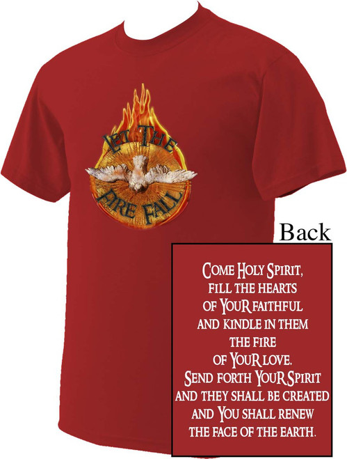 Holy Spirit with Fire T-Shirt