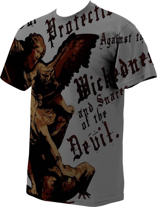 St. Michael Full T-Shirt