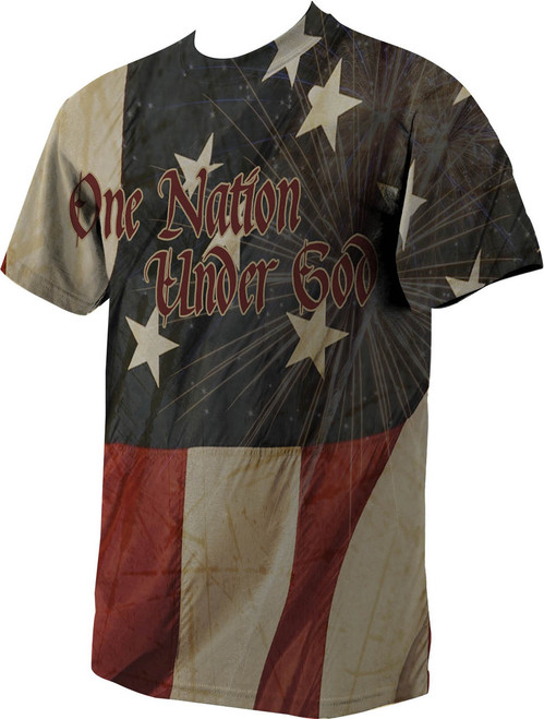 Catholic Patriot Full Color T-Shirt
