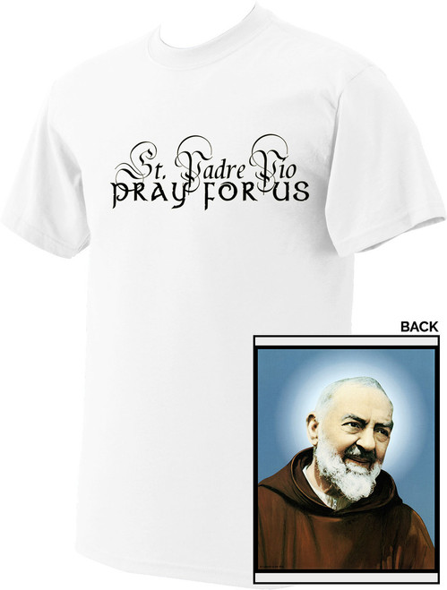 St. Padre Pio Value T-Shirt