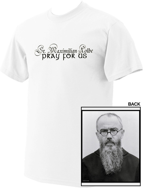 St. Maximilian Kolbe Value T-Shirt