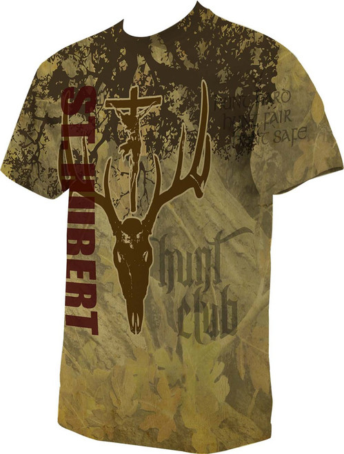 St. Hubert Hunt Club Graphic Full Color T-shirt