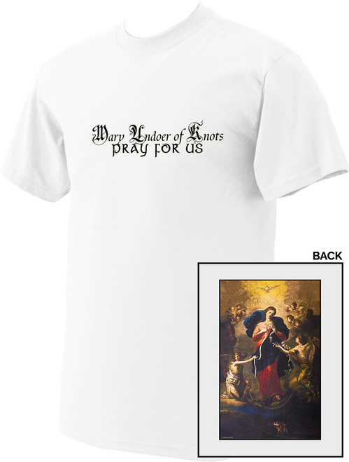 Mary Undoer of Knots Value T-Shirt