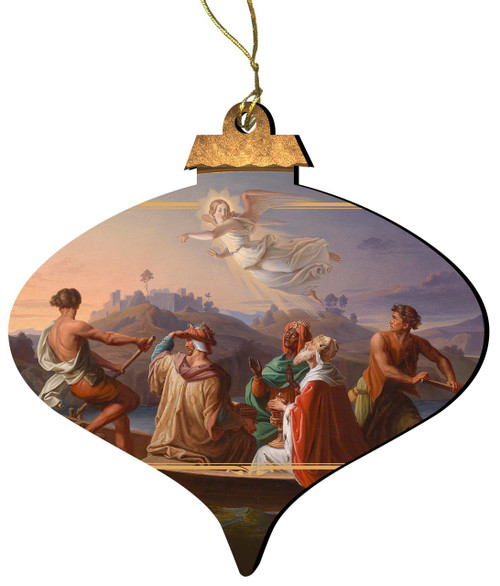 The Magi on the Way to Bethlehem by Joseph Binder Wood Ornament
