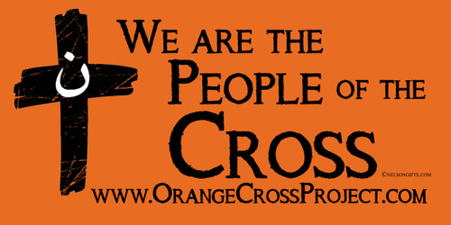 We are the People of the Cross Bumper Sticker
