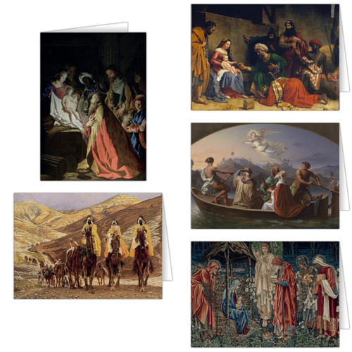 Magi Christmas Card Set  (25 Cards)