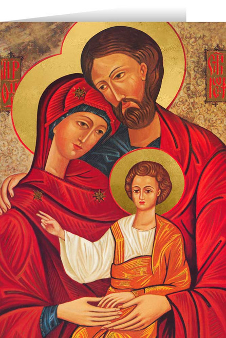 Holy Family  Icon Christmas Cards (25 Cards)
