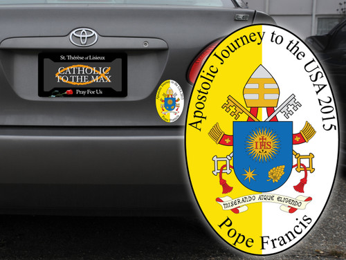 Pope Francis Apostolic Journey USA Bumper Sticker
