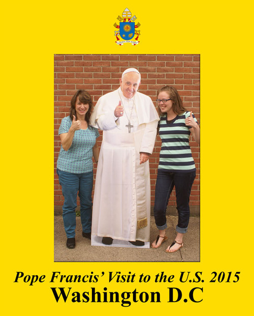 Pope Francis Washington D.C. Visit 7x5 Vertical Photo Matte