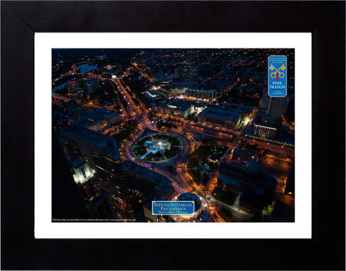 Festival of Families Papal Parade Aerial Commemorative Photograph