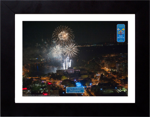 Festival of Families Large Fireworks Aerial Commemorative Photograph
