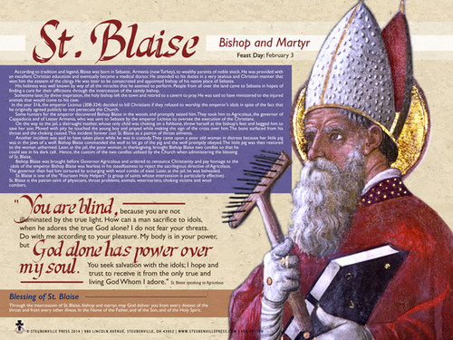 Saint Blaise Explained Poster