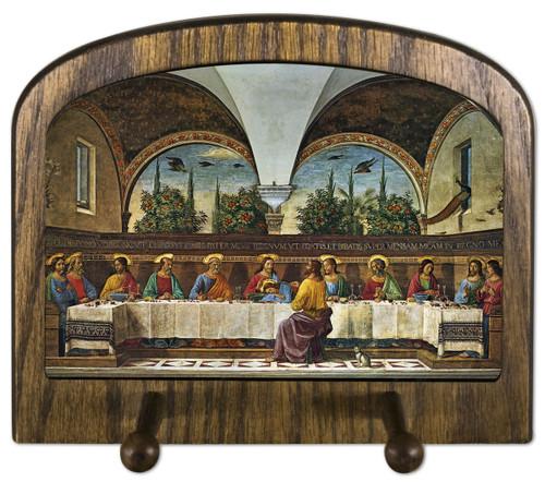 Last Supper by Ghirlandaio Horizontal Peg Holder