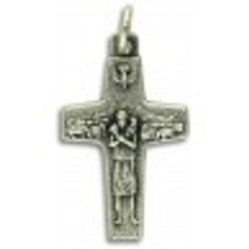 Pope Francis Economy Keepsake Shepherd's Cross 1 inch charm