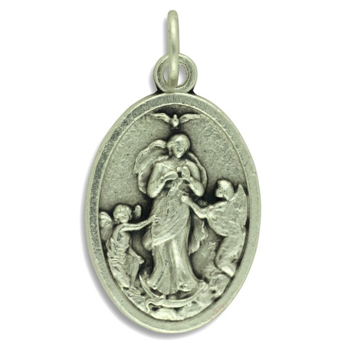 Our Lady Undoer of Knots / Pope Francis Medal - 1 inch