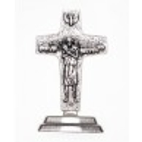 Small Tabletop Pope Francis Cross
