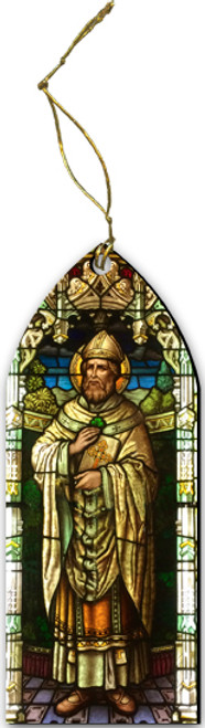St. Patrick Cutout Ornament