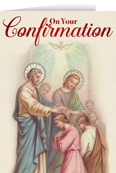 Apostles' Confirmation Greeting Card