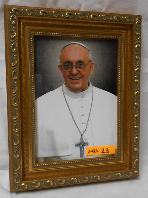 Pope Francis Formal 5x7 Framed Print
