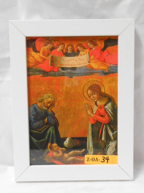 Nativity 5x7 Framed Print