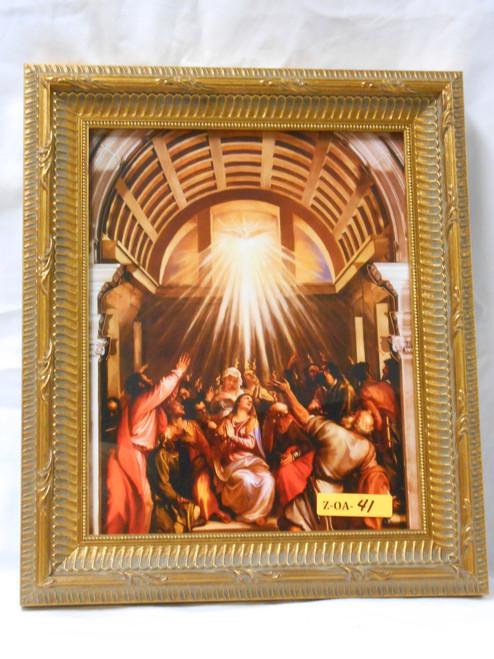 Pentecost 8x10 Framed Print