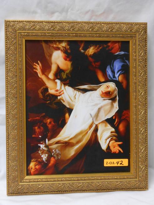 St. Catherine of Siena 8x10 Framed Print