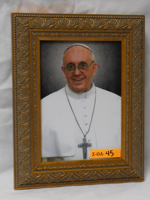 Pope Francis Formal 5x7 Large Framed Print