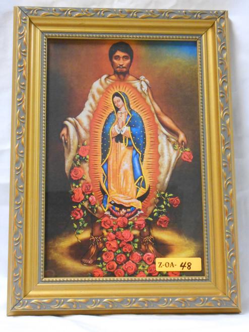 St. Juan Diego 6x10 Framed Print
