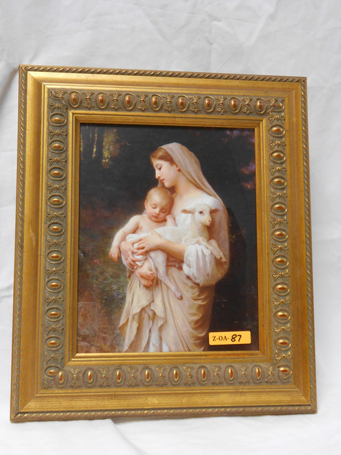 L'Innocence 8x10 Gold Framed Print