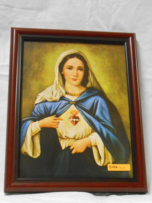 Immaculate Heart 9x12 Framed Print