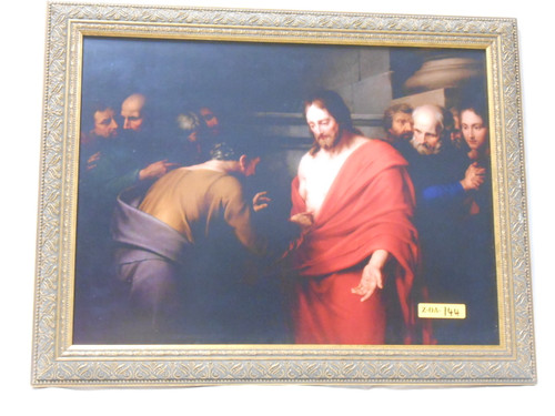 St. Thomas and the Risen Christ 12x16 Framed Print