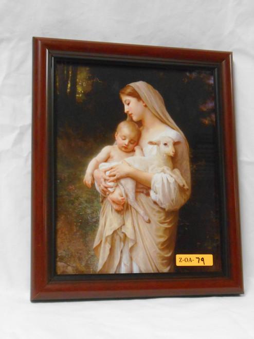 L'Innocence (Close-Up) 8x10 Framed Print