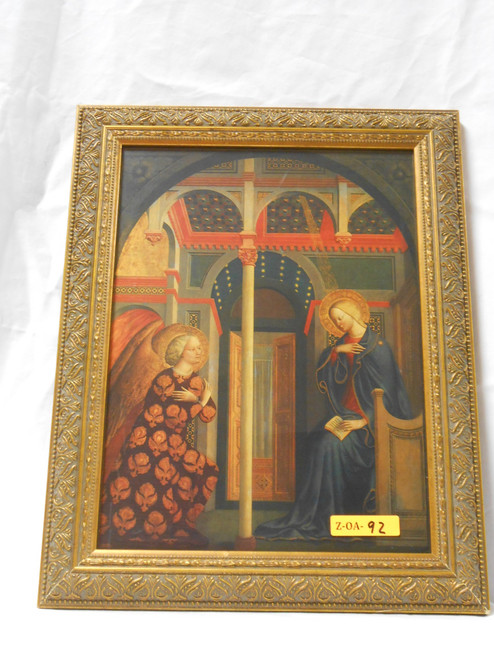 The Annunciation 9x12 Framed Print