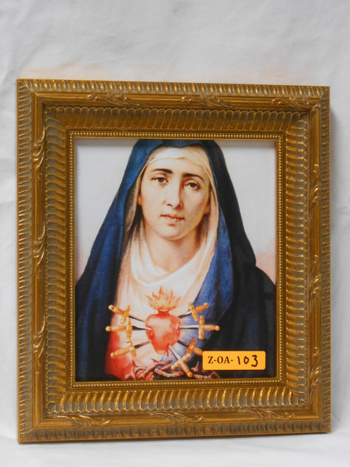 Seven Sorrows of Mary 6x7 Framed Print