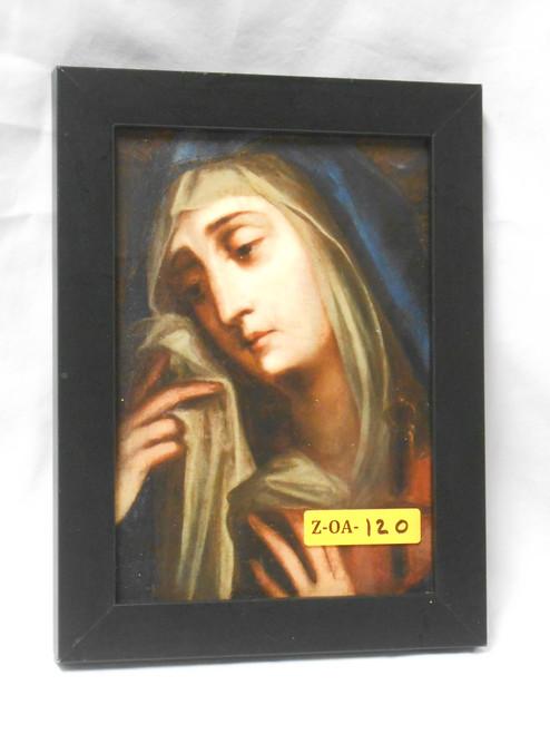 Mater Dolorosa 5x7 Black Framed Print