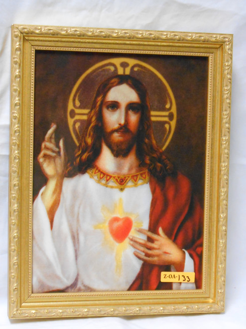 Sacred Heart of Jesus 9x12 Framed Print