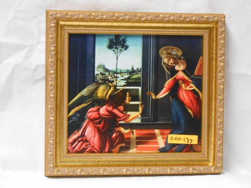 CLEARANCE Annunciation 7x8 Framed Print