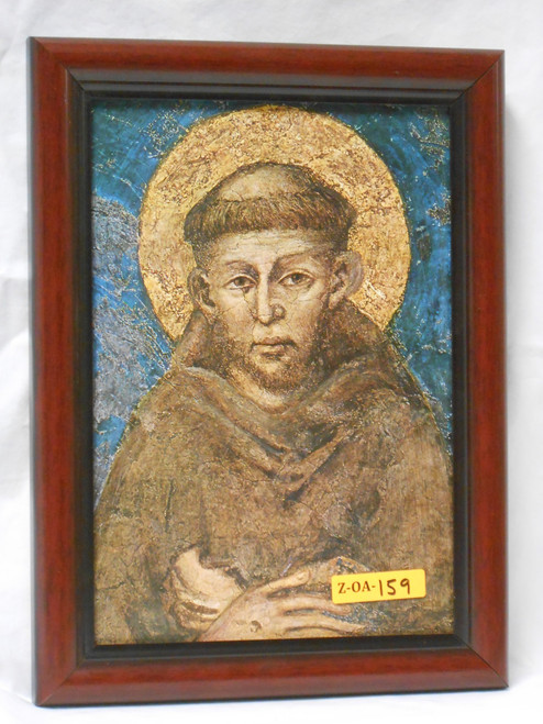 St. Francis of Assisi 7x10 Framed Print