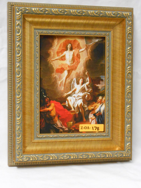 Resurrection by Coypel 5x7 Framed Print